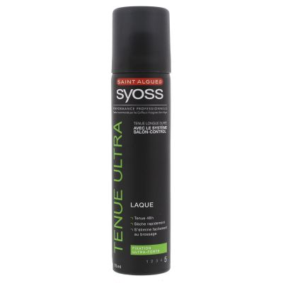 SYOSS LAQUE 75 ML TENUE ULTRA