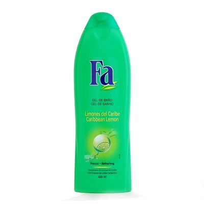Fa gel douche 600 ml caribbean lemon