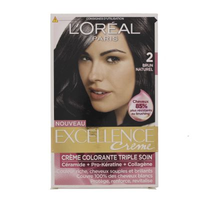 Excellence coloration n°2 brun naturel