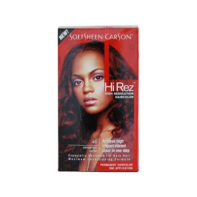 Hi-Rez de Softsheen Carson Coloration Permanente N°46 Rouge Intense Cuivré