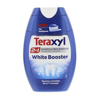 Teraxyl dent 2en1 75 ml white booster