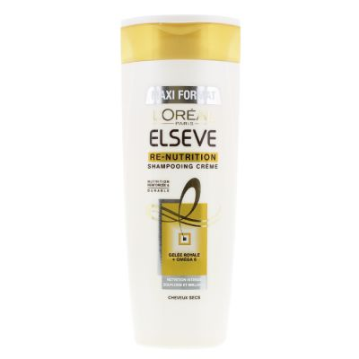 Elseve shampooing 400 ml re-nutrition chvx secs