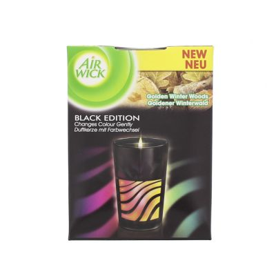 Air wick bougie led black edition pomme