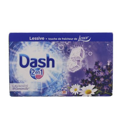 DASH LESS TABS 20 DOSES LAVANDE + CAMOMILLE