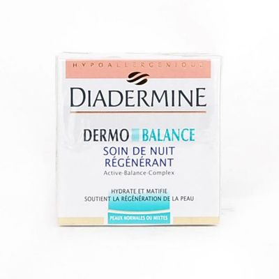 Diadermine Dermo Balance Nuit Peaux Normales & Mixtes 50ML