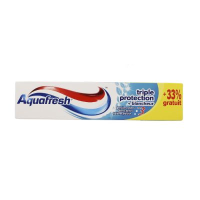 Aquafresh dentifrice 100ml triple protection+blancheur