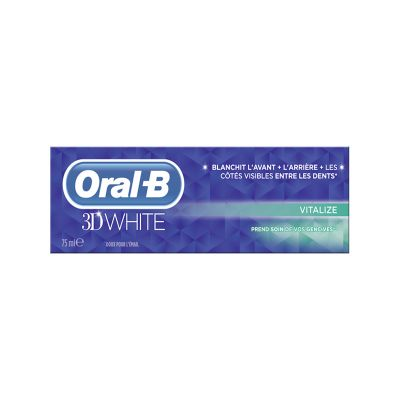 Oral-B 3D White Dentifrice Vitalize 75ML