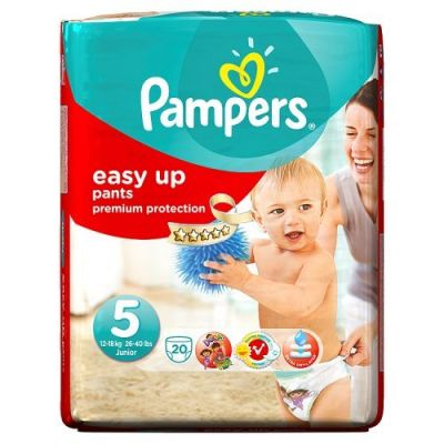 Pampers Couches Easy Up Pants Taille 5 - 20 Couches