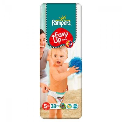 Pampers Couches Easy Up Pants Taille 5 - 38 Couches