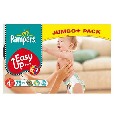 Pampers Couches Easy Up Pants Taille 4 - 75 Couches