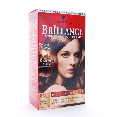 Brillance Coloration 830 Brun Dore Royal Color Protect & Diamant
