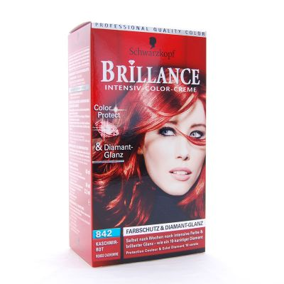 Brillance Coloration 842 Rouge Cachemire Color Protect & Diamant