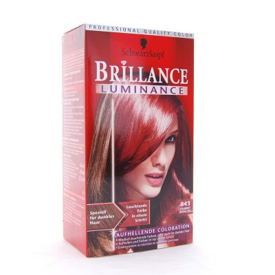 Brillance Coloration 843 Rouge Feu Color Protect & Diamant