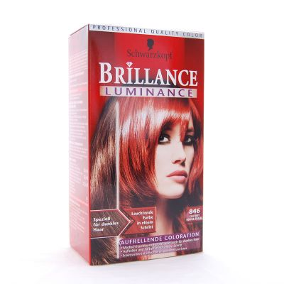 Brillance Coloration 846 Rouge Braise Color Protect & Diamant