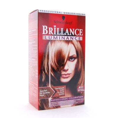 Brillance Coloration 855 Brun Lumineux Color Protect & Diamant
