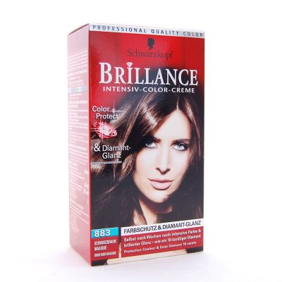 Brillance Coloration 883 Brun Noir Magique Color Protect & Diamant