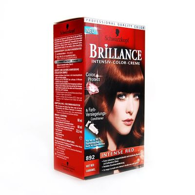 Brillance Coloration 892 Rouge Intense Caramel Color Protect & Diamant