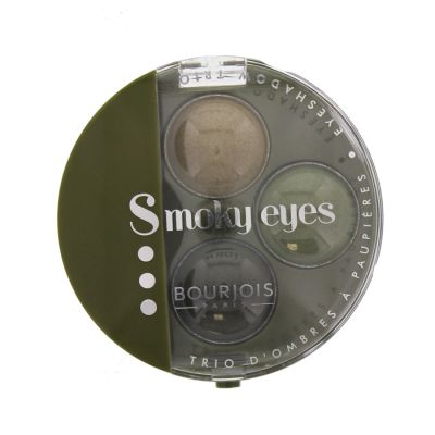 Bourjois ombres à paupières trio smoky eyes 14 vert jungle