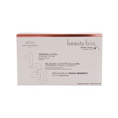 INSTITUT ESTHEDERM Kit Beauty Box Sensibilité 5x10Ml