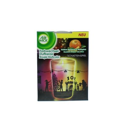 Air wick bougie led mandarine ambree