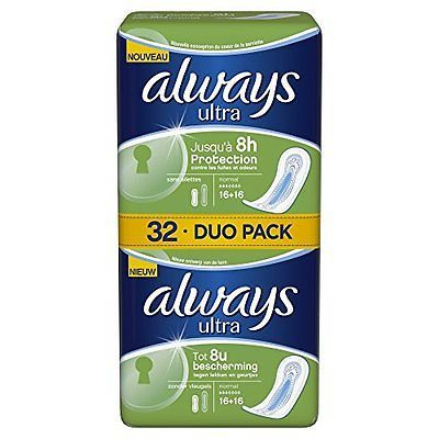 Always ultra normal duo pack x 32
