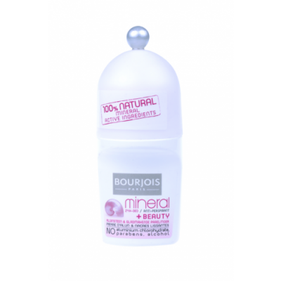 Bourjois déodorant roll on 50 ml mineral + beauty