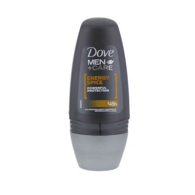 Dove déodorant roll on 50 ml men energy spice