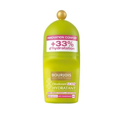 Bourjois Déodorant Roll On 50 Ml Soin Actif Hydratant +