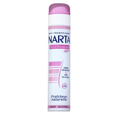 Narta déodorant spray 200ml Bio efficacité