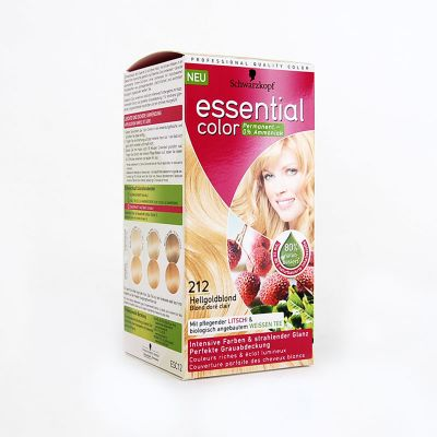 Essential Color De Schwarzkopf N°212 Blond Doré Clair