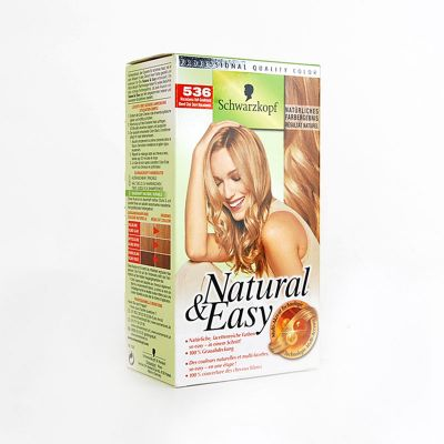 Natural & Easy De Schwarzkopf N°536 Blond Clair Doré Macadamia
