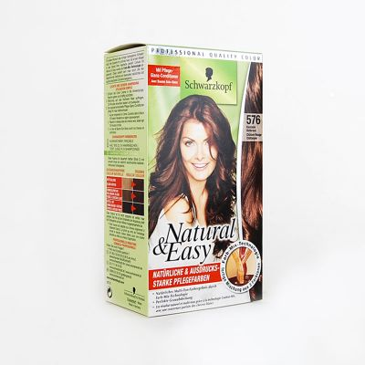 Natural & Easy De Schwarzkopf N°576 Châtain Rouge