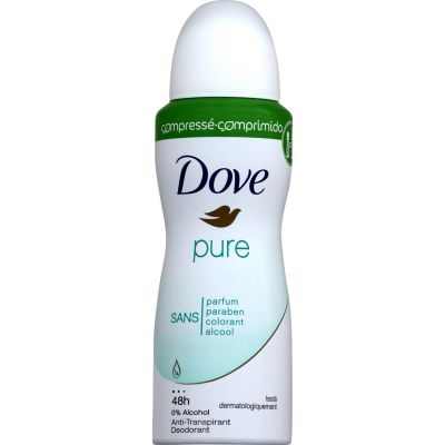 DOVE DEO SPRAY 100 ML PURE COMPRESSE