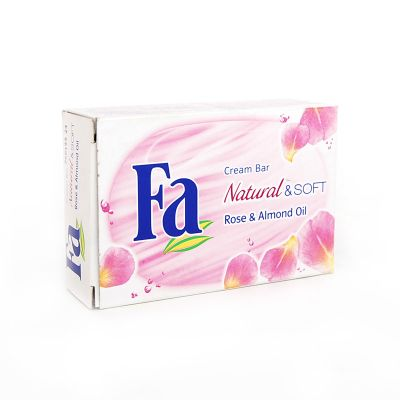 Fa Natural & Soft Savon Rose & Amande Douce 100G