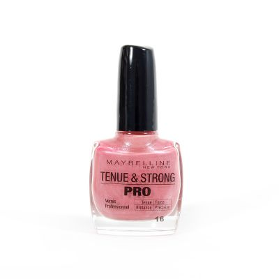 Gemey Maybelline Tenue & Strong Pro Vernis A Ongles N°16 Rose Attraction