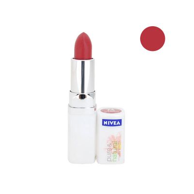 Nivea Pure & Natural Colours Rouge A Lèvres N°74 Petal  Cranberry