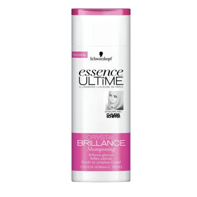 Schwarzkopf Essence Ultîme -Shampooing Cristal Brillance -Cheveux Normaux/Ternes