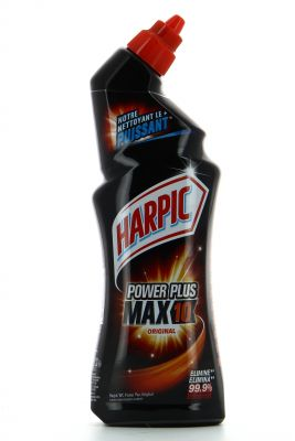 Harpic Gel WC Power plus Max 10 surpuissant Original 750ml