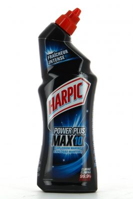 Harpic Gel WC Power plus Max 10 surpuissant Explosion Marine 750ml