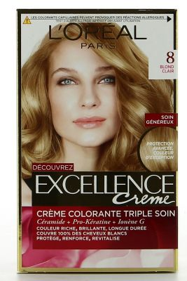 L'Orèal Paris - Excellence Crème colorante 8 Blond Clair