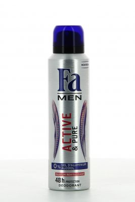 Fa Déodorant Spray 150 Ml Men Active & Pure