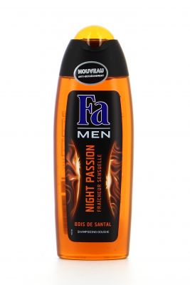 Fa Gel Douche 250 Ml Men Night Passion Bois de Santal