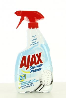 Ajax Pistolet 2en1 750 Ml Anti-Calcaire Shower Power