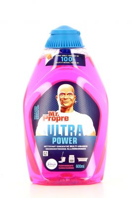 Mr. Propre Ultra Power Nettoyant Concentré Multi-Usages 600 Ml Fleur Naissante