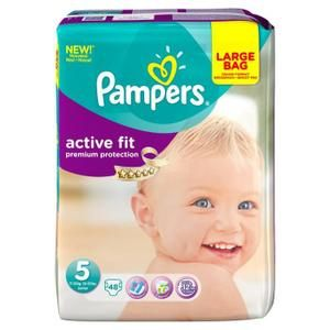 Pampers Couche Active Fit Taille 5 - 48 couches