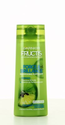 Fructis Shampooing 250 Ml Force & Brillance Cheveux Normaux, Fatigués