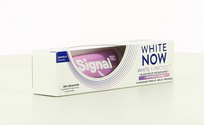 Signal Dentifrice 75 Ml White Now White + Protect + Renforce L'Email