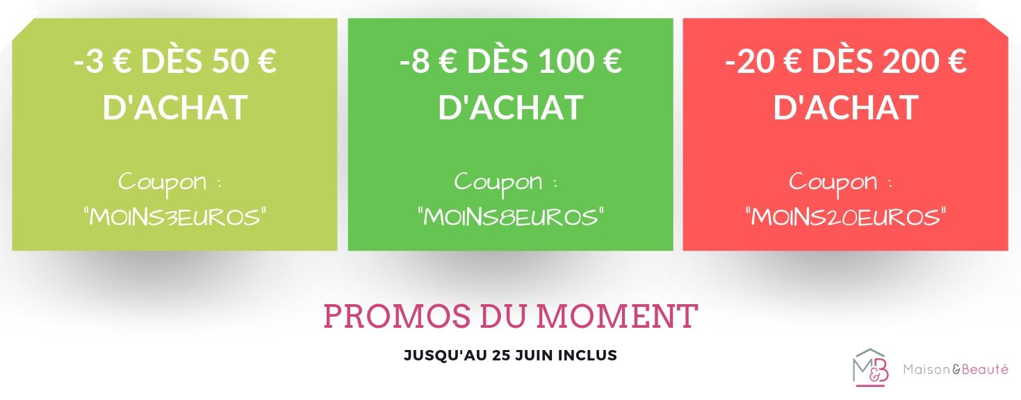 3 coupons disponibles